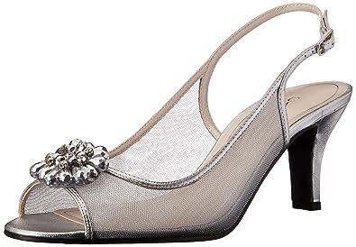 Caparros Women's Savanna Dress Sandal, Silver, ...