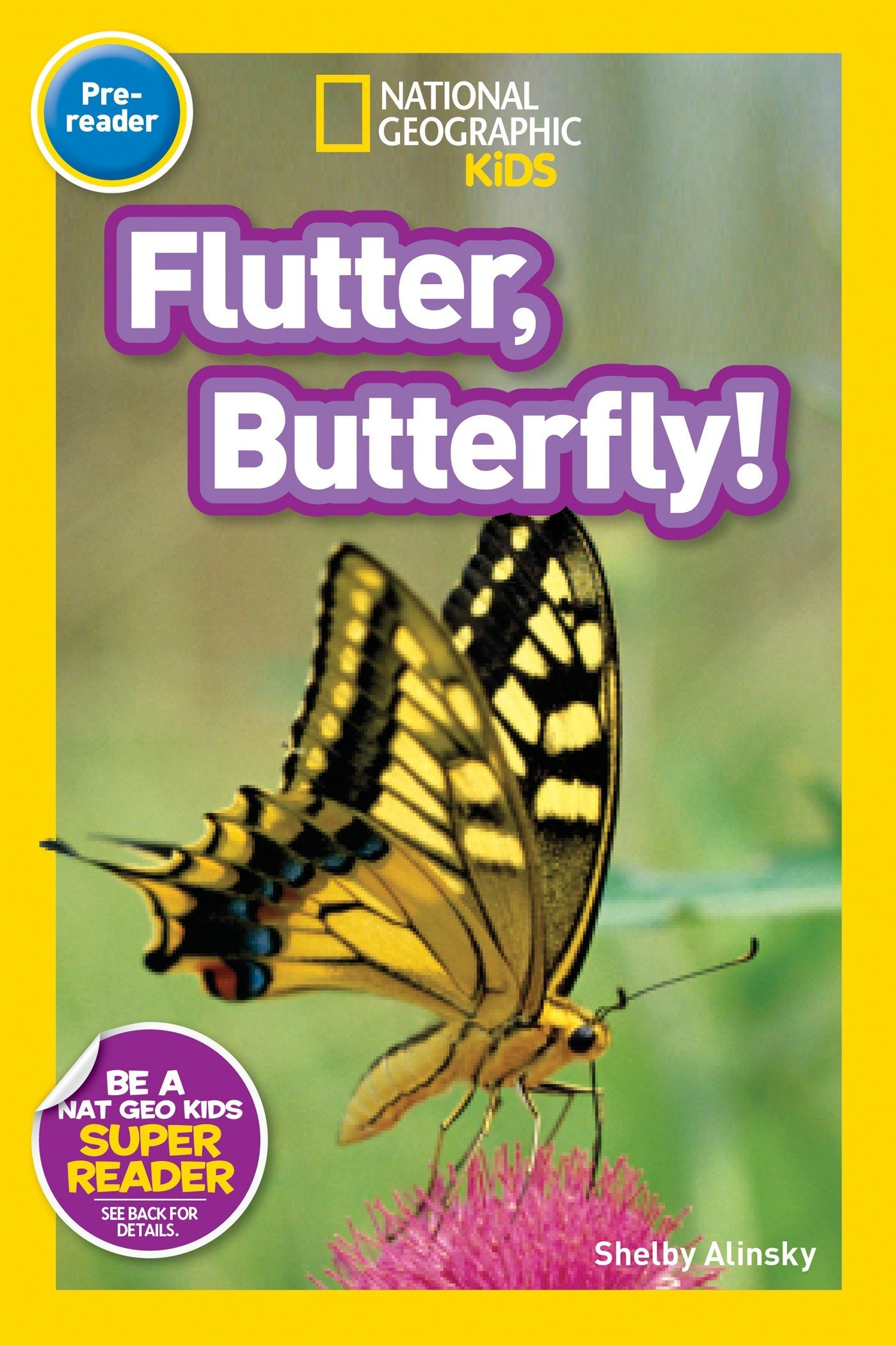 PDF] National Geographic Readers: Flutter, Butterfly! Pdf