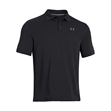 Under Armour UA Performance Polo Camiseta de Manga Corta, Hombre, Black (001), L: UNDER ARMOUR: Amazon.es: Deportes y aire libre