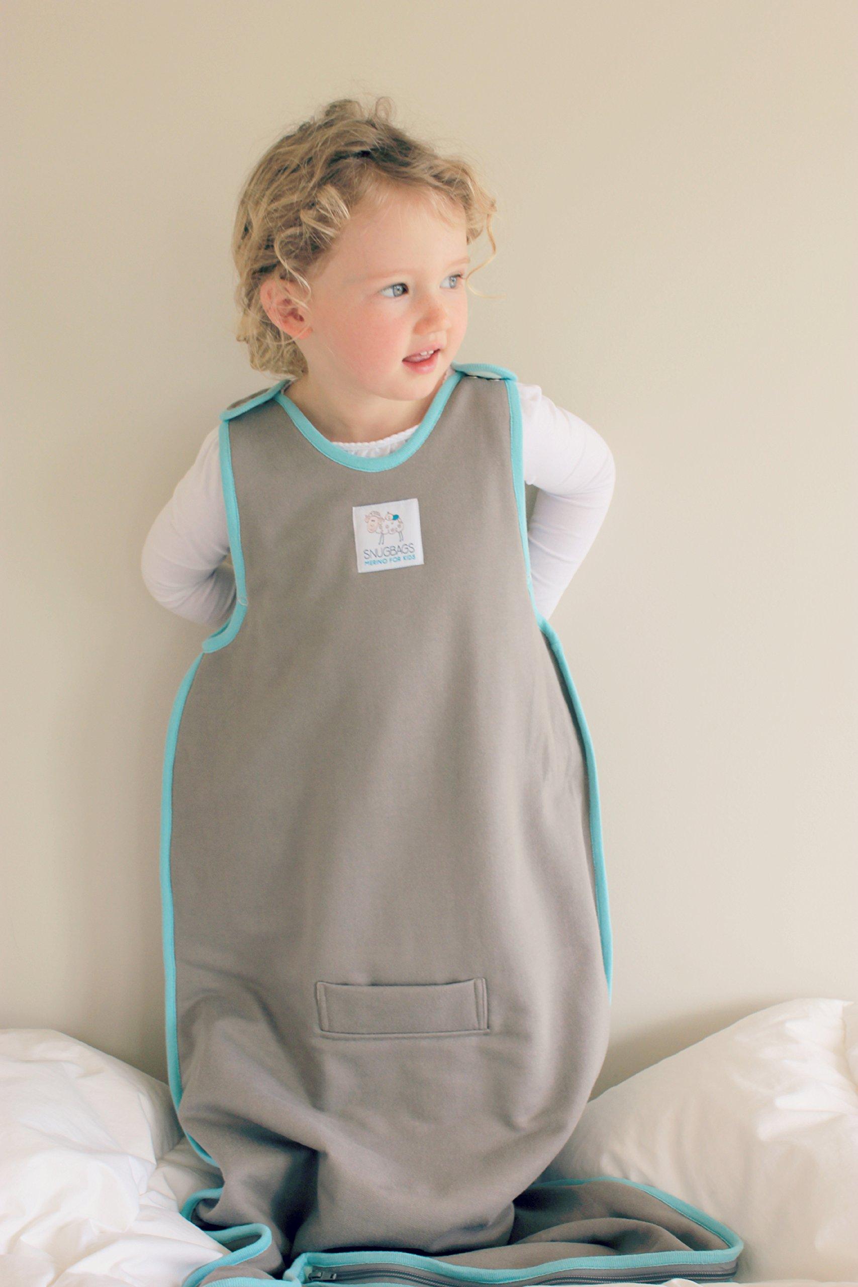 WINTER DUVET MERINO Toddler Sleep Sack / WINTER DUVET Merino Sleep Bag, 2-4 yrs old, Oatmeal