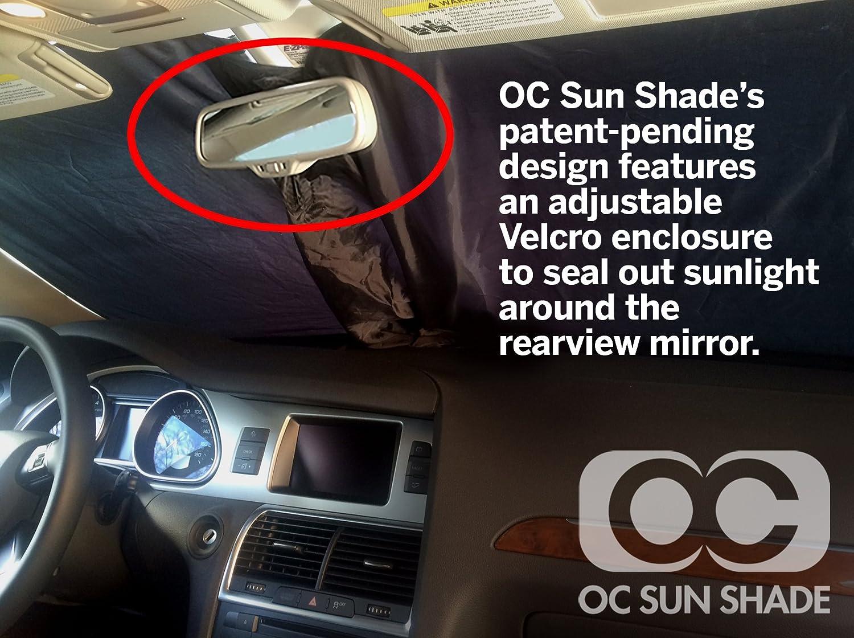 2014-2016 Fiat 500L 4 Door Hatchback Windshield OC Sun Shade