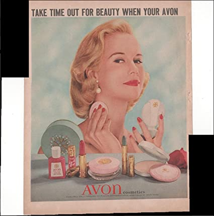 Amazon Com Avon Cosmetics Take Time Out For Beauty When Your Avon