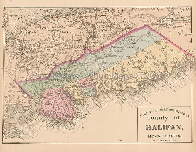 Map Of Canada Nova Scotia.Nova Scotia Ancient Map Canada Www Meilleurimage Com
