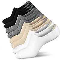 No Show Socks Women Low Socks Non Slip Flat Boat Line 4/8 Pairs