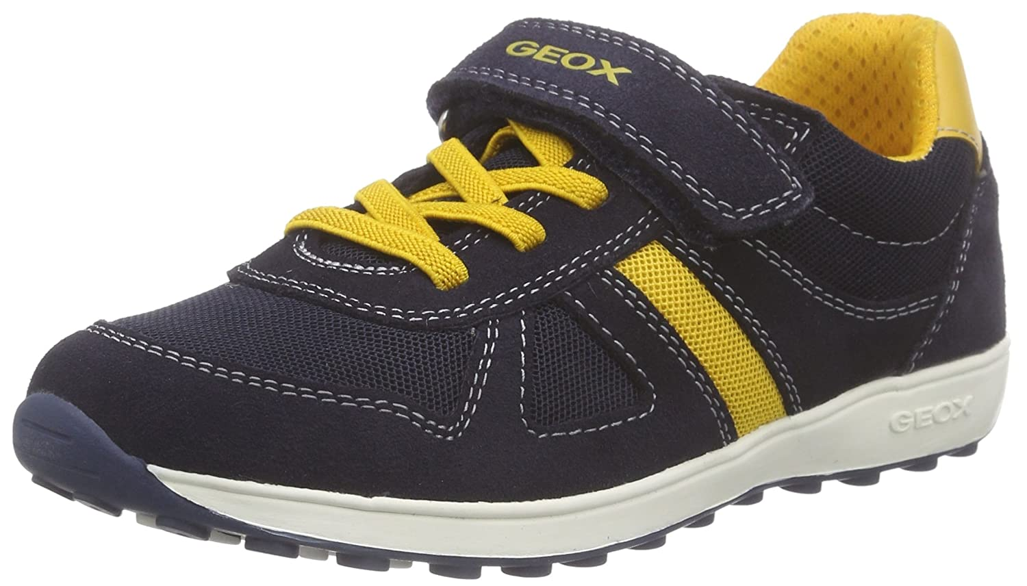 Mode Kinder Schuhe GEOX Sneaker JR. BOY XITIZEN A blau