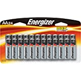 Energizer AA Batteries, Double A Battery Max Alkaline (24 Count) E91BP-24