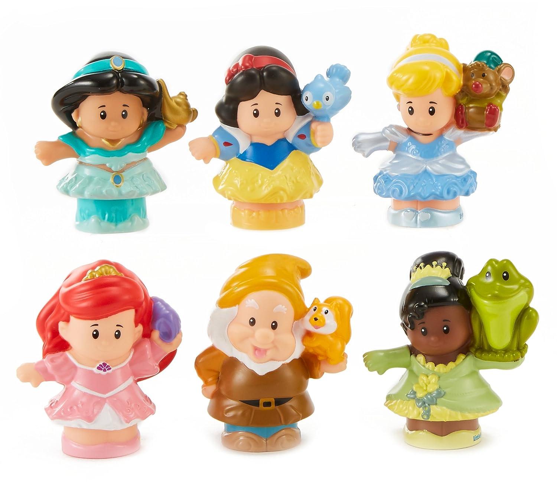 Fisher-Price Little People Disney Princess Figures Gift Set Mattel FLH25