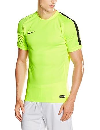 Nike Herren T-shirt Flash Squad 15, 644665, Volt/Black, Gr