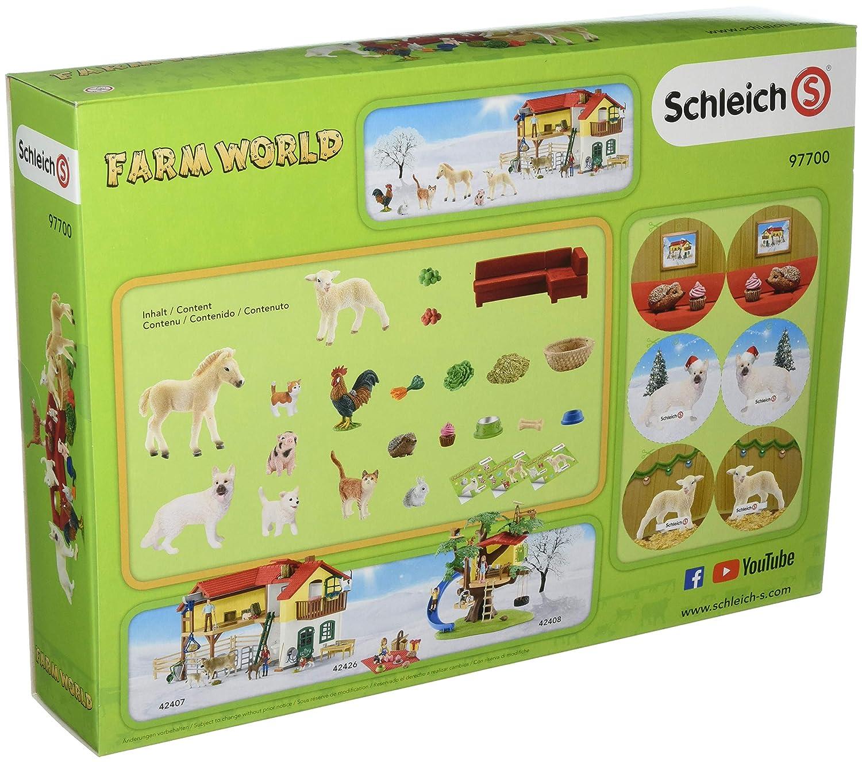 Schleich 97700/Farm World 2018/Calendrier de lAvent Voir Photo