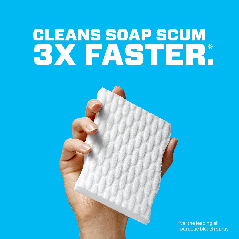 Mr. Clean Magic Eraser Bath, Cleaning Pads with Durafoam, Meadows ...