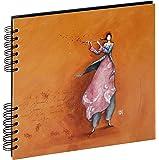Panodia 271165 Flute Artist Album Traditionnel pour 80 Photos  Orange 25 x 23