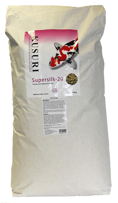 15kg Kusuri Koi Food Kusuri, Supersilk 6mm, 15KG, Pack of 1