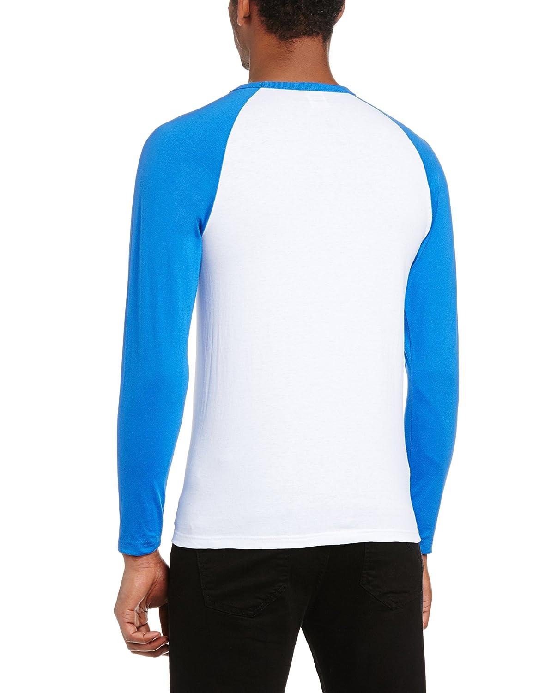 Blue and white long sleeve shirt custom shirt for Blue and white striped long sleeve t shirt