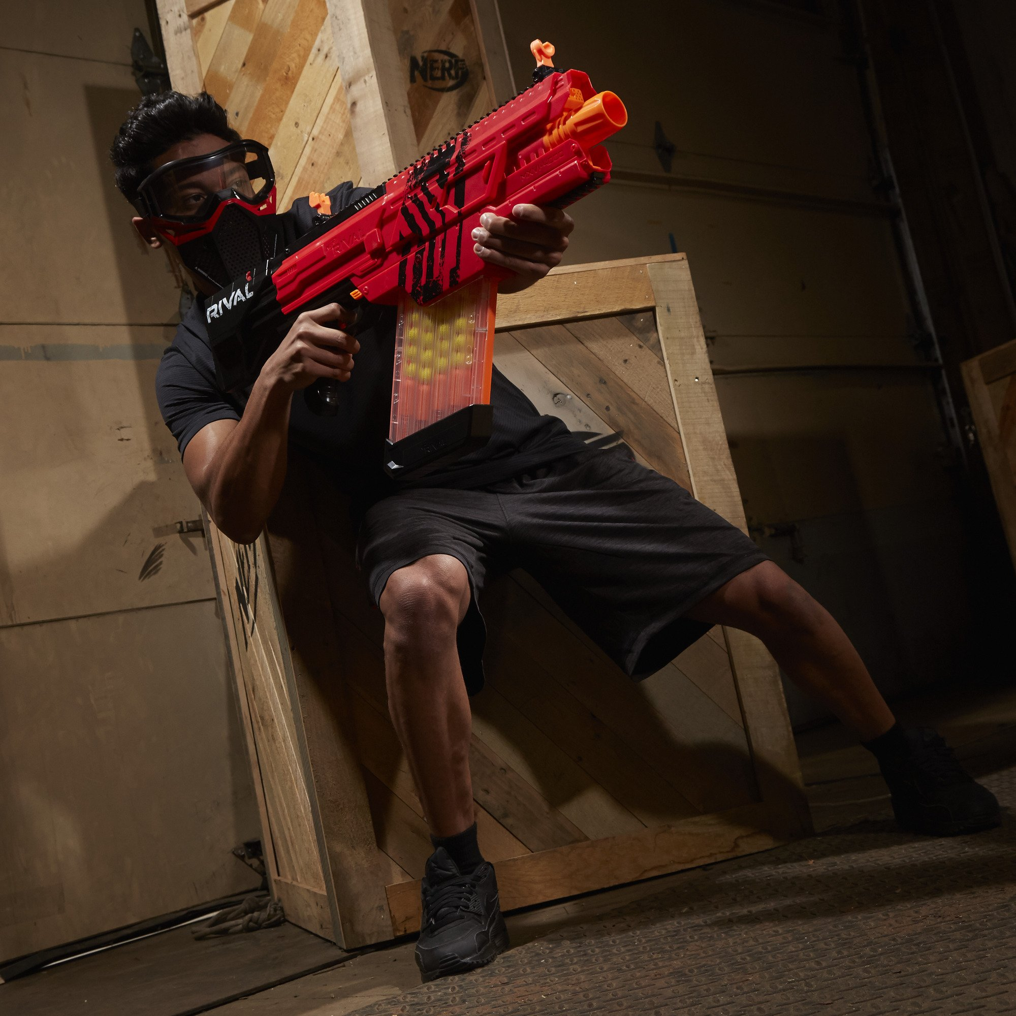 Nerf Rival Khaos MXVI-4000 Blaster (Red) by NERF (Image #10)