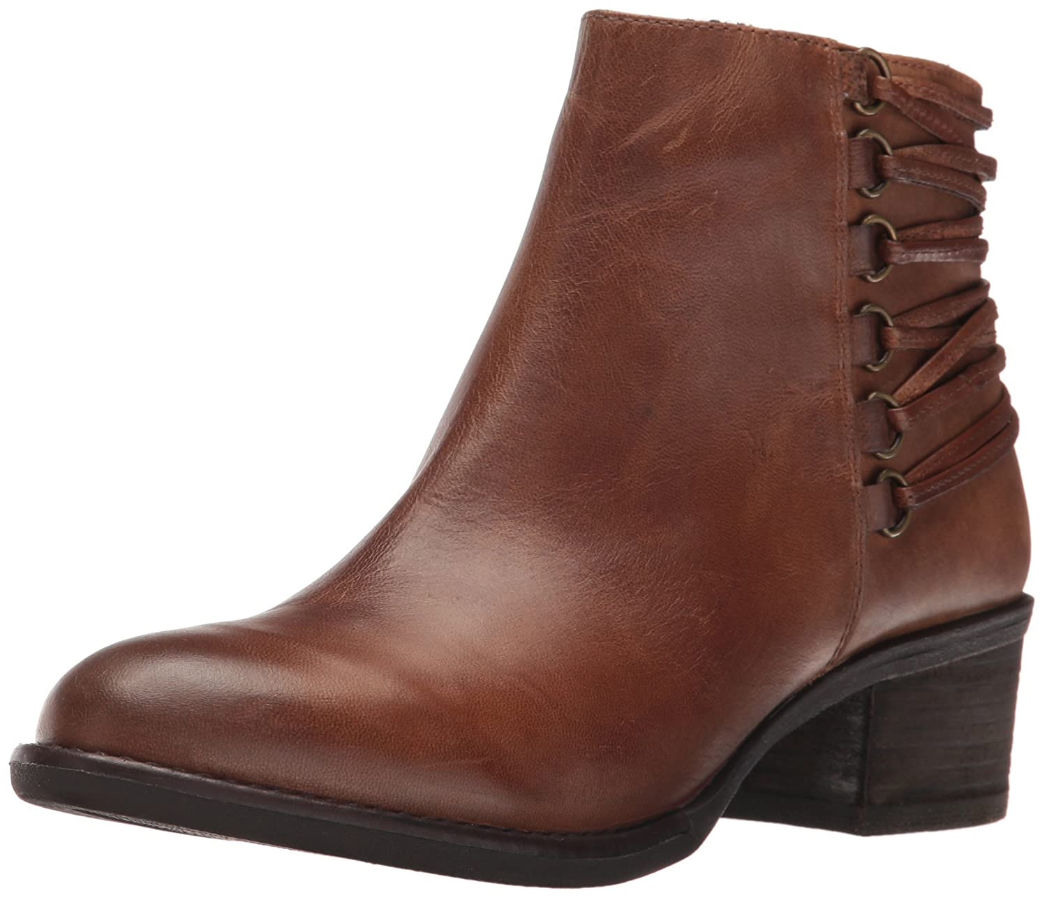 Steve Madden Women's Caldor Boot B01GF2WSHO 7 B(M) US|Cognac Leather