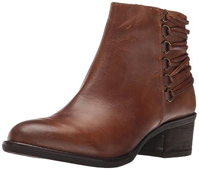 Steve Madden Women's Caldor Boot, Cognac Leather, ...
