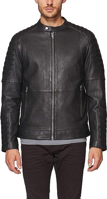 098ee2g011 Noir Medium Homme black 001 Amazon Esprit Blouson vtwdt