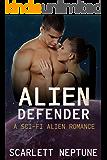 Alien Defender: A Sci-Fi Alien Romance (Gabotten Warrior Mates Book 1)