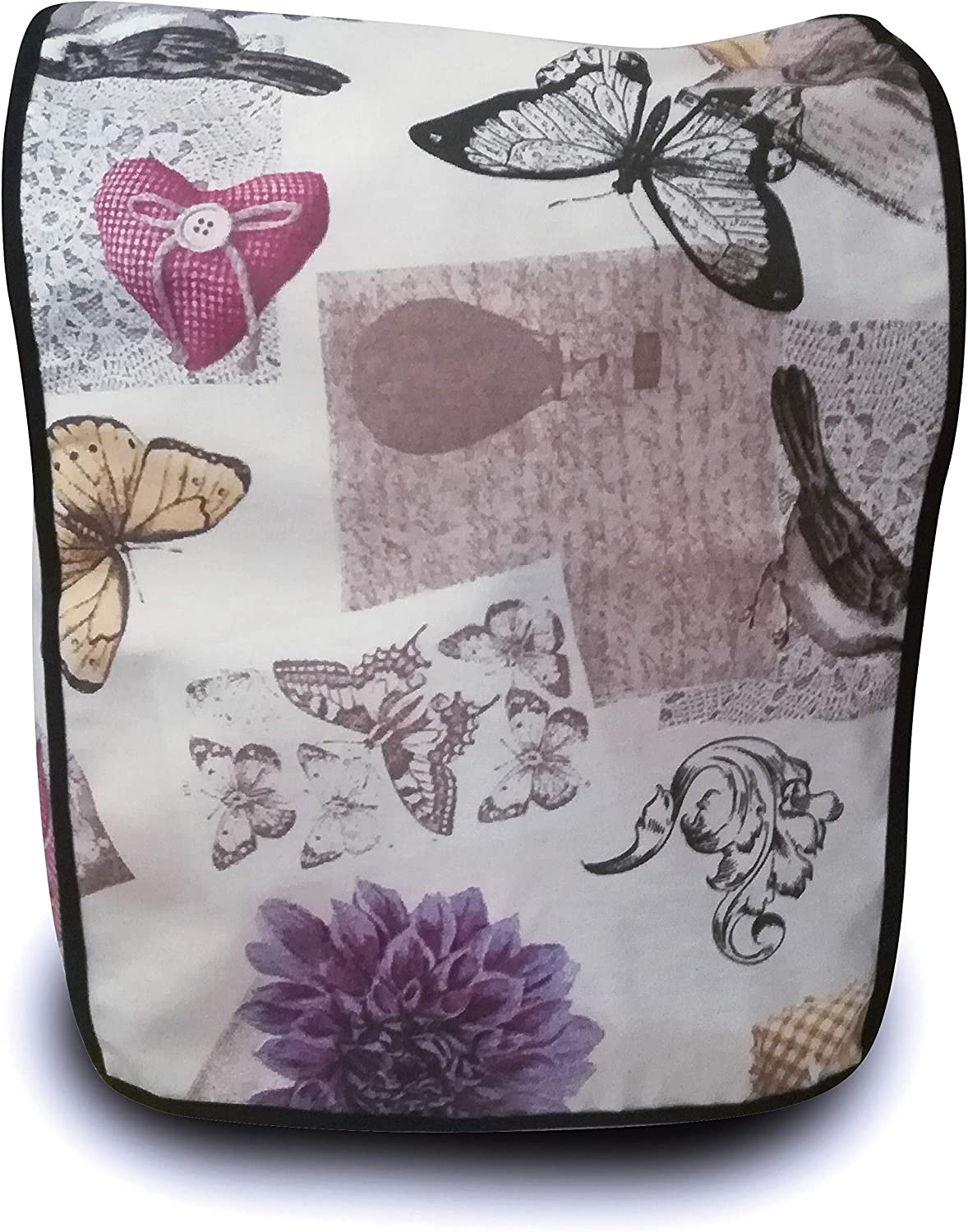 Funda antimanchas para Thermomix TM31 & TM5 & TM6 FLORES Y MARIPOSAS: Amazon.es: Hogar