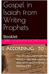 Gospel in Isaiah from Writing Prophets: Booklet (Writing Prophets  Book 1) Kindle Edition