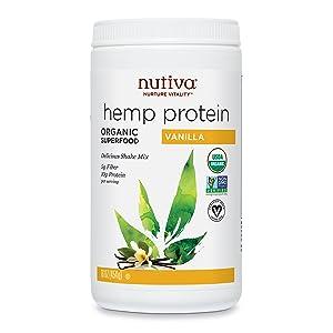 Nutiva Organic, Cold Processed Hemp Speed Protein