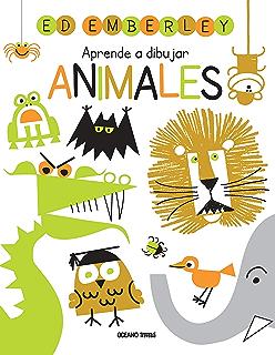 Aprende a dibujar animales (Actividades) (Spanish Edition)