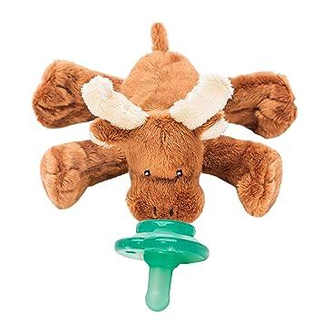 Amazon.com: nookums paci-plushies Moose Buddies- Chupete ...