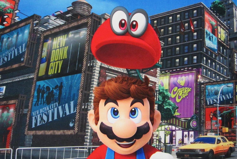 Super Mario Cap's Off 100% Polyester (Pillowcase ONLY) Size Standard Boys Girls Kids Bedding