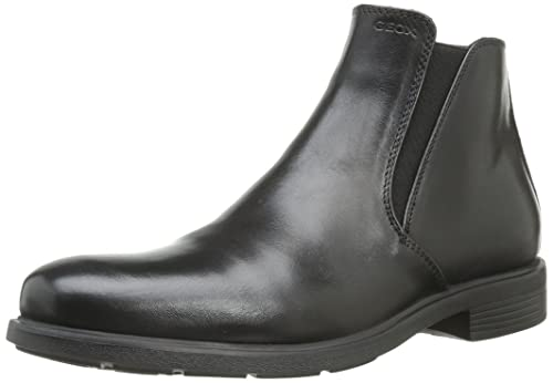 Geox Mens U Dublin D Boots, Black (Blackc9999), 9 UK