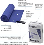 Cressi Fast Drying, Asciugamano Sportivo in Microfibra Unisex Adulto