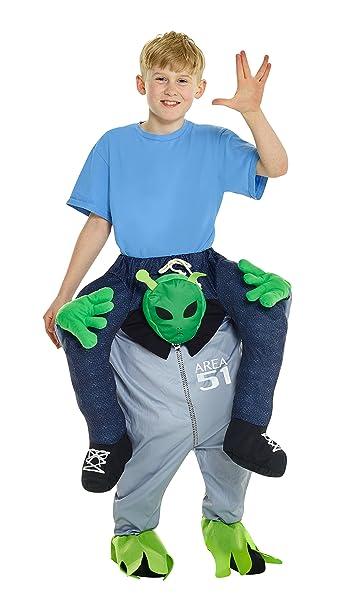 Morphsuits Alien Piggyback Kids Costume One Size  sc 1 st  Amazon.com & Amazon.com: Morphsuits Alien Piggyback Kids Costume One Size: Toys ...