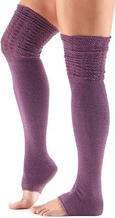 Amazon.com: toesox - Calentador de piernas para mujer con ...