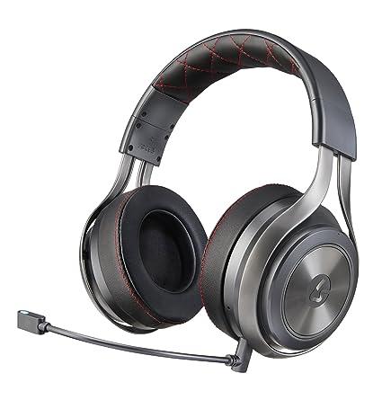 LucidSound LS40 Binaural Diadema Negro Auricular con micrófono - Auriculares con micrófono (Consola de Videojuegos