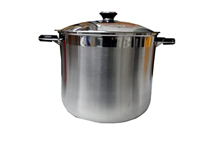 Amazoncom Stock Pot 30 Quart Stainless Steel Cookware Sauce And