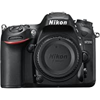 Nikon D7200 Digital SLR Camera Body (24.2 MP, Wi-Fi, NFC) 3.2-Inch LCD Screen DSLR Kamera