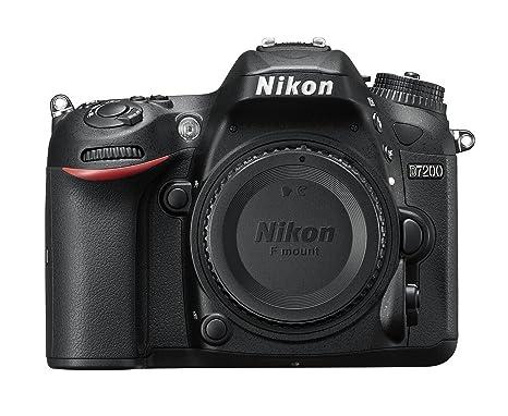 Nikon D7200 - Cámara Digital réflex de Objetivo único, Color Negro ...