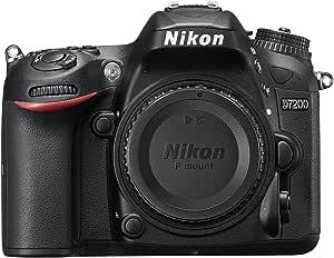 Nikon D7200 Digital SLR Camera Body (24.2 MP, Wi-Fi, NFC) 3.2-Inch LCD Screen DSLR Kamera