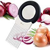 ORBLUE All-In-One Onion Holder, Odor Remover, Slicer, Cutter & Chopper