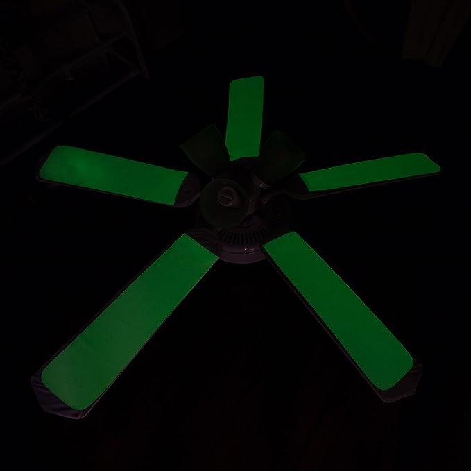 Fancy Blade - Cubierta para Ventilador de Techo (Brilla en la ...