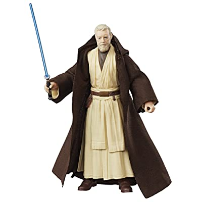 Star Wars The Black Series 40th Anniversary Ben (Obi-Wan) Kenobi 6 Inch Figure: Toys & Games