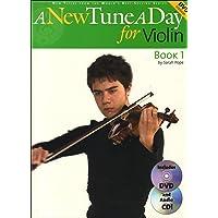 A New Tune a Day - Violin, Book 1 Bk/Online Audio & Video