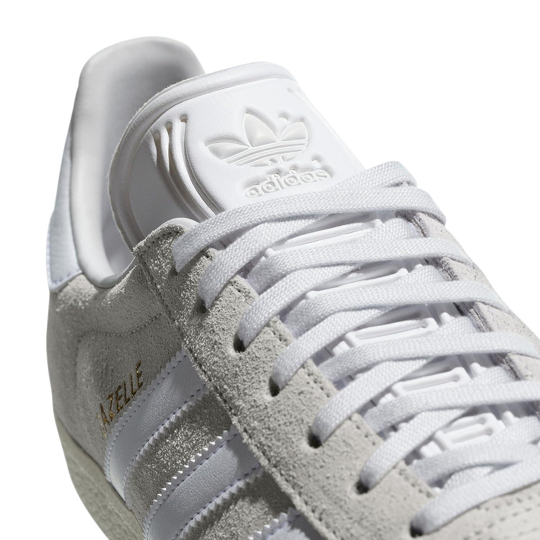 Adidas Gazelle Chaussures Homme. Nobuk Sneaker, Trainer, Crystal White/White/Cream