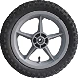 Ironton 12.5in. Pneumatic Plastic Spoked Wheel