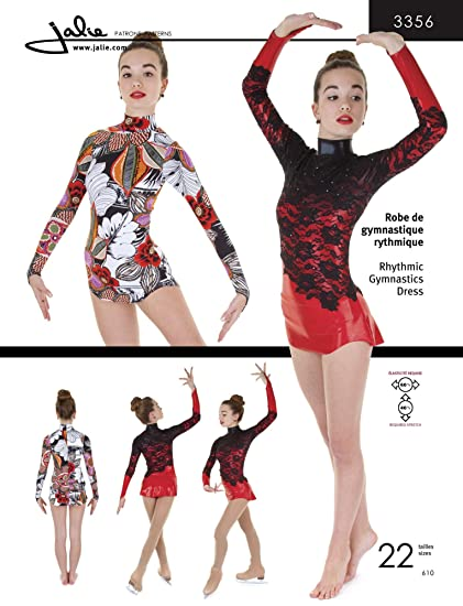 Amazon Jalie Rhythmic Gymnastics Ice Figure Skating Dress
