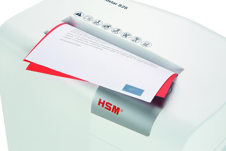 HSM shredstar S25 Strip-Cut Shredder; Shreds Up to 25 Sheets; 6.9-Gallon Capacity Shredder by HSM (Image #10)