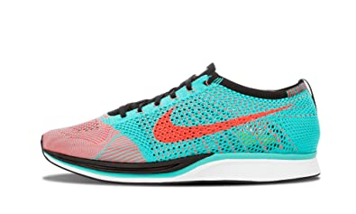 c9badea3438eb Nike Mens Flyknit Hyper Jade Punch Running Shoes (526628-306) Mens 11 D