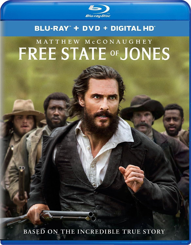 Amazon: Free State Of Jones [bluray]: Matthew Mcconaughey, Gugu  Mbatharaw, Mahershala Ali, Keri Russell, Gary Ross, Scott Stuber, Jon  Kilik: Movies &