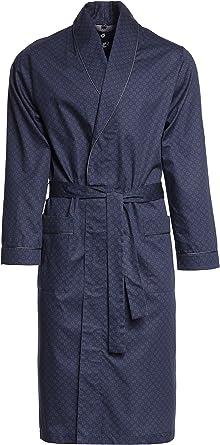 Revise Guido RE-504 - Elegante bata para hombre (100 % algodón): Amazon.es: Ropa y accesorios