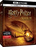 harry potter - 8 film collection (4 blu-ray 4k ultra hd) box set Blu-ray Italian Import