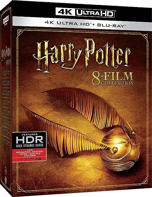 Harry Potter - 8 Film Collection 8 Blu-Ray 4K Ultra Hd+8 Blu-Ray Italia Blu-ray: Amazon.es: Helena Bonham Carter, Kenneth Branagh, Jim Broadbent, John Cleese, Robbie Coltrane, Warwick Davis, Alexandre Desplat, Pam Ferris,